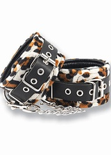 Menottes de chevilles fourrure Tiger Leg Cuff