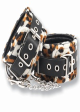 Menottes fourrure Tiger Handcuff